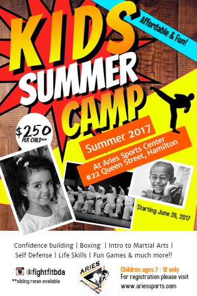 School Break Camps – ARIES SPORTS CENTER